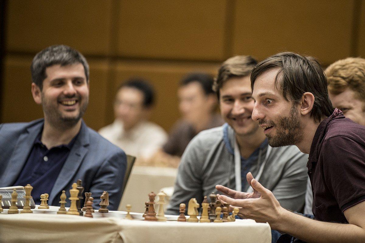 E poi Carlsen ha giocato Cxd5...