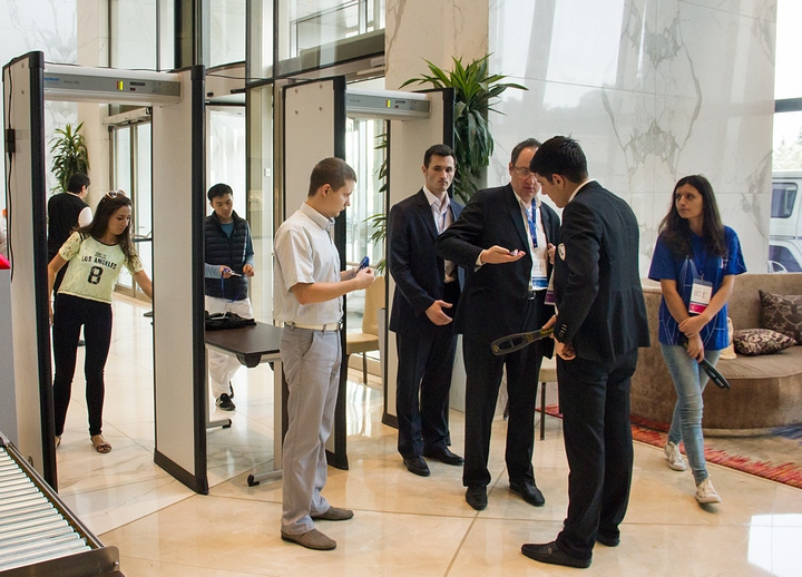 Security at FIDE World Cup 2015